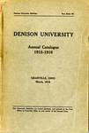 The Eighty-Fifth Annual Catalogue of Denison University for the year 1915-1916