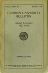 The Ninety-third Annual Catalogue of Denison University for the year 1923-1924