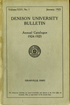 The Ninety-fourth Annual Catalogue of Denison University for the year 1924-1925