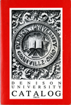 Denison University Bulletin, A College of Liberal Arts and Sciences Founded in 1831, 150th Academic Year - 1980-81