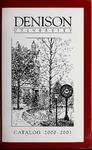 Catalog Denison University 2000-2001