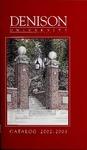 Catalog Denison University 2002-2003