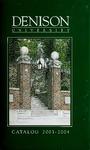 Catalog Denison University 2003-2004